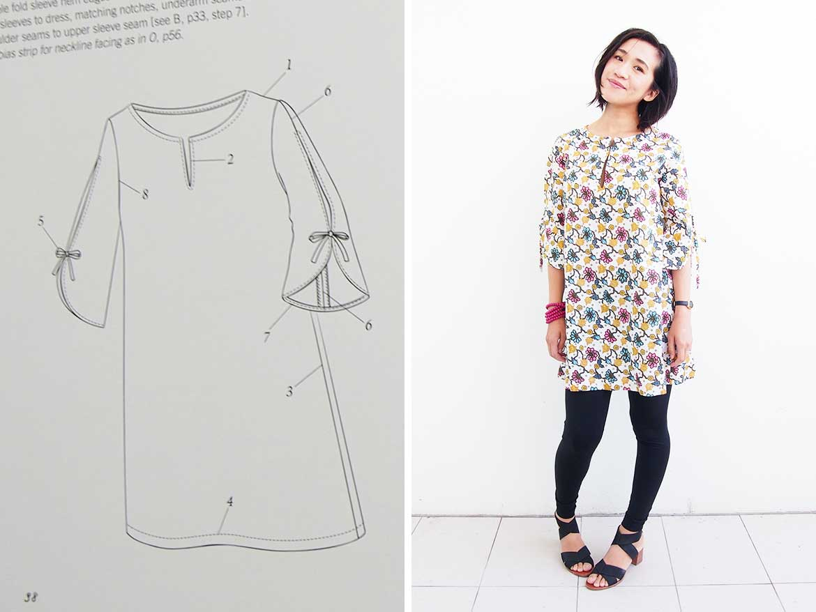 Tunic Dress: Is This The Best Japanese Sewing Pattern Maker? - Sew - Free Printable Blouse Sewing Patterns