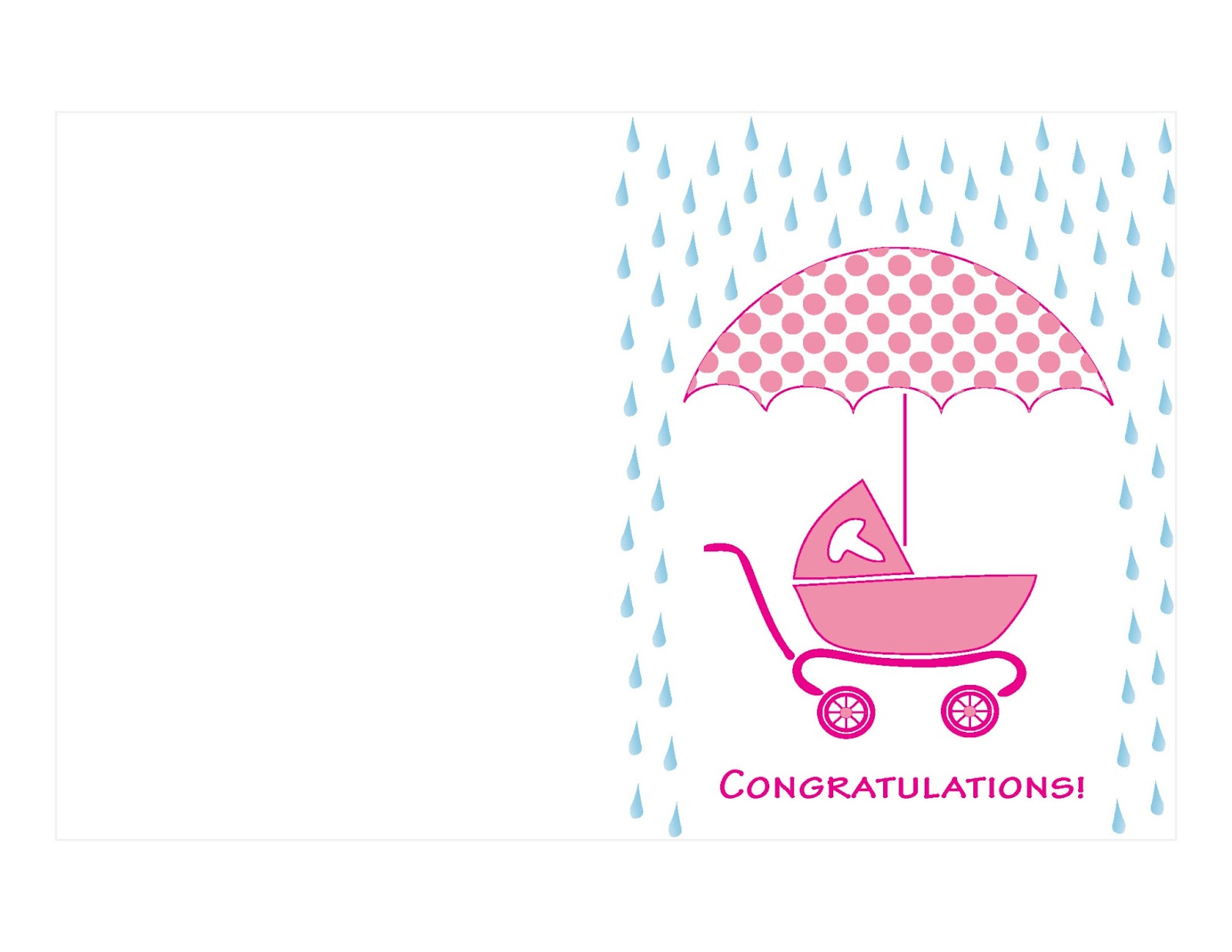 Twocreativewomen More Free Greeting Card Printables Salmon Shower - Free Printable Baby Cards