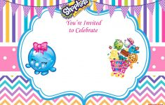 Updated – Free Printable Shopkins Birthday Invitation | Event – Free Printable Shopkins Invitations