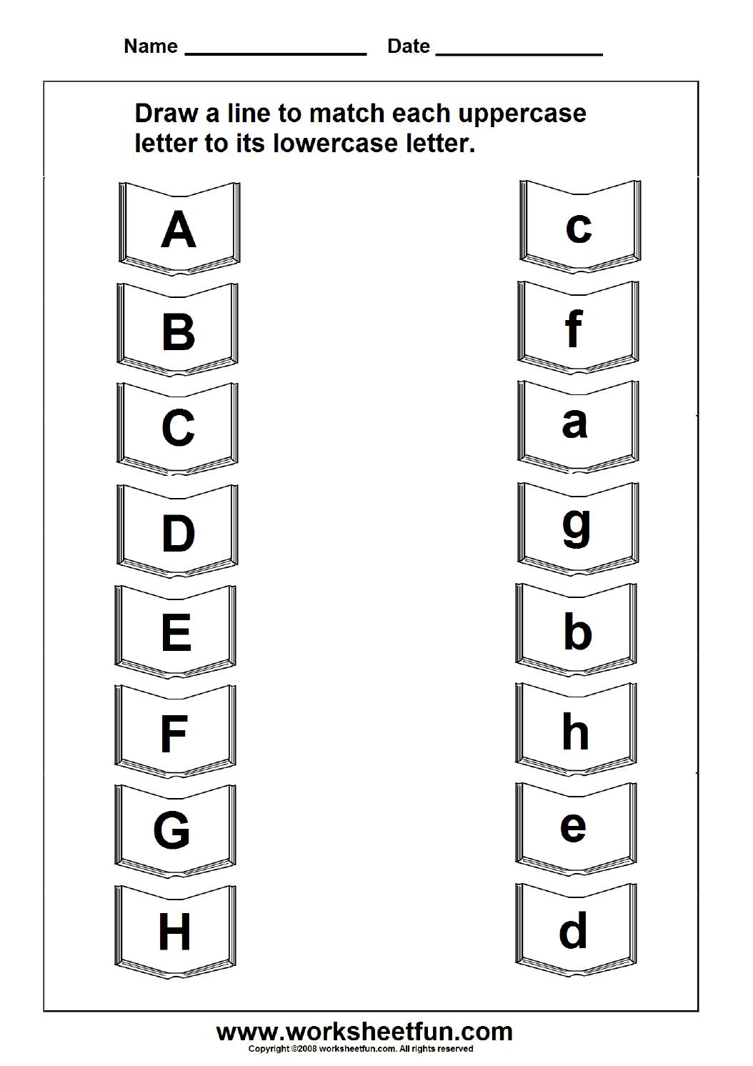 Uppercase Lowercase Letter   Education   Letter Worksheets - Free Printable Alphabet Letters Upper And Lower Case