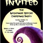 Utah County Mom: Nightmare Before Christmas Party | Party   Free Printable Nightmare Before Christmas Birthday Invitations