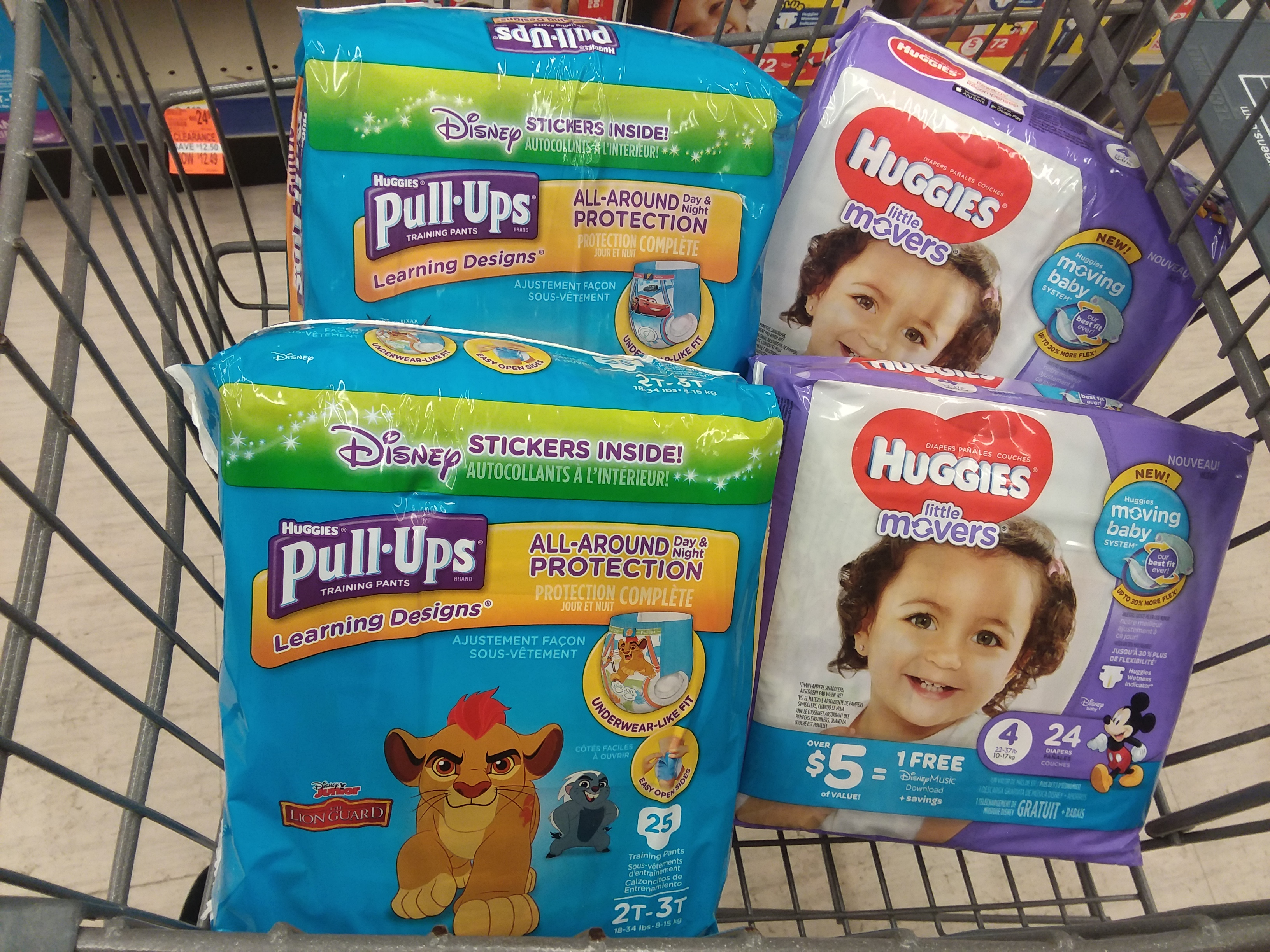 Walgreens ~ Huggies Jumbo Diapers Or Pull-Ups, Only $7.00, Ends 8/11 - Free Printable Coupons For Pampers Pull Ups