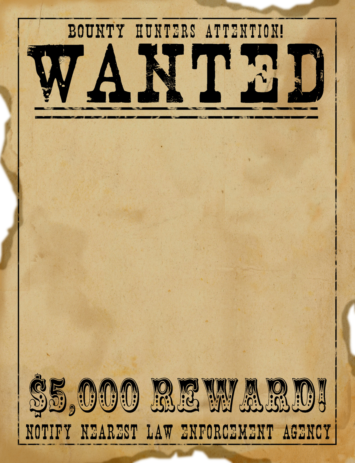 Wanted Poster Free Clip Art Free Clip Art Brilliant Ideas Of Free - Free Printable Wanted Poster Invitations