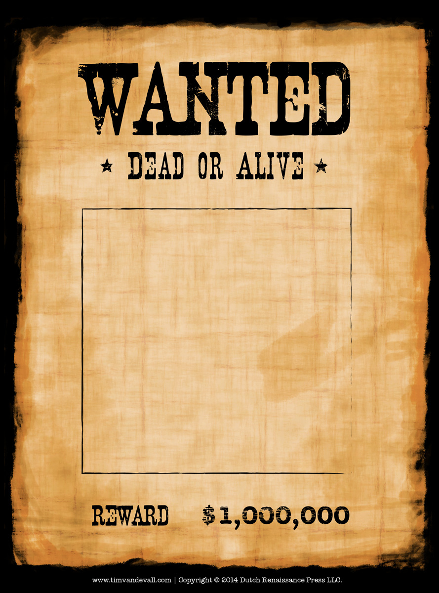 Wanted Poster Template Epic Wanted Poster Invitation Template Free - Free Printable Wanted Poster Invitations