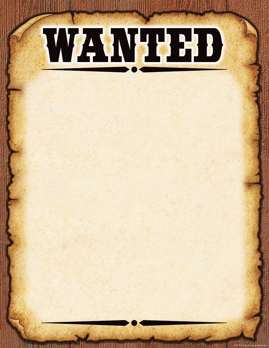 Wanted Poster Template – Google Search | Ddd2016 | Pinterest Free - Wanted Poster Printable Free