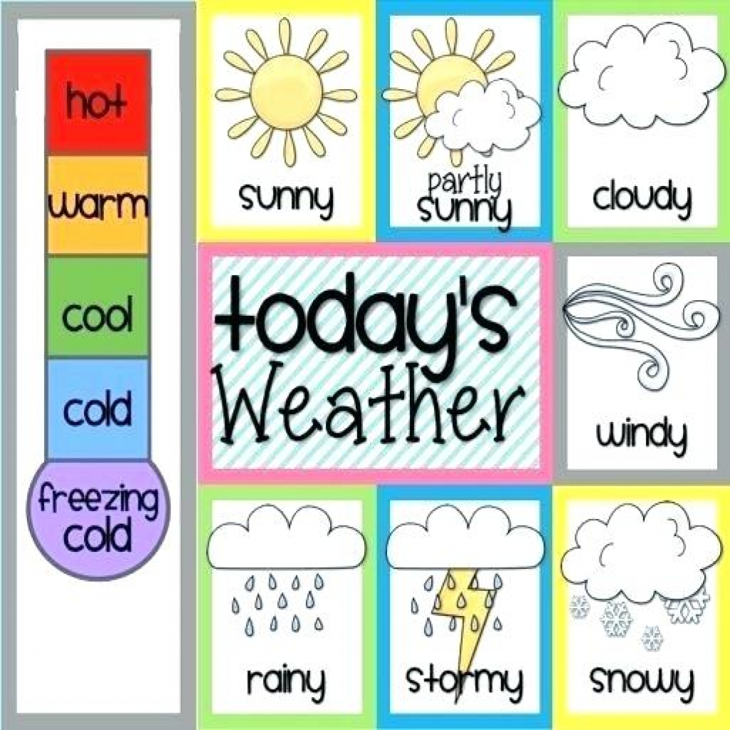 Weather Chart For Preschool | About Chart - Free Printable Weather Chart For Preschool