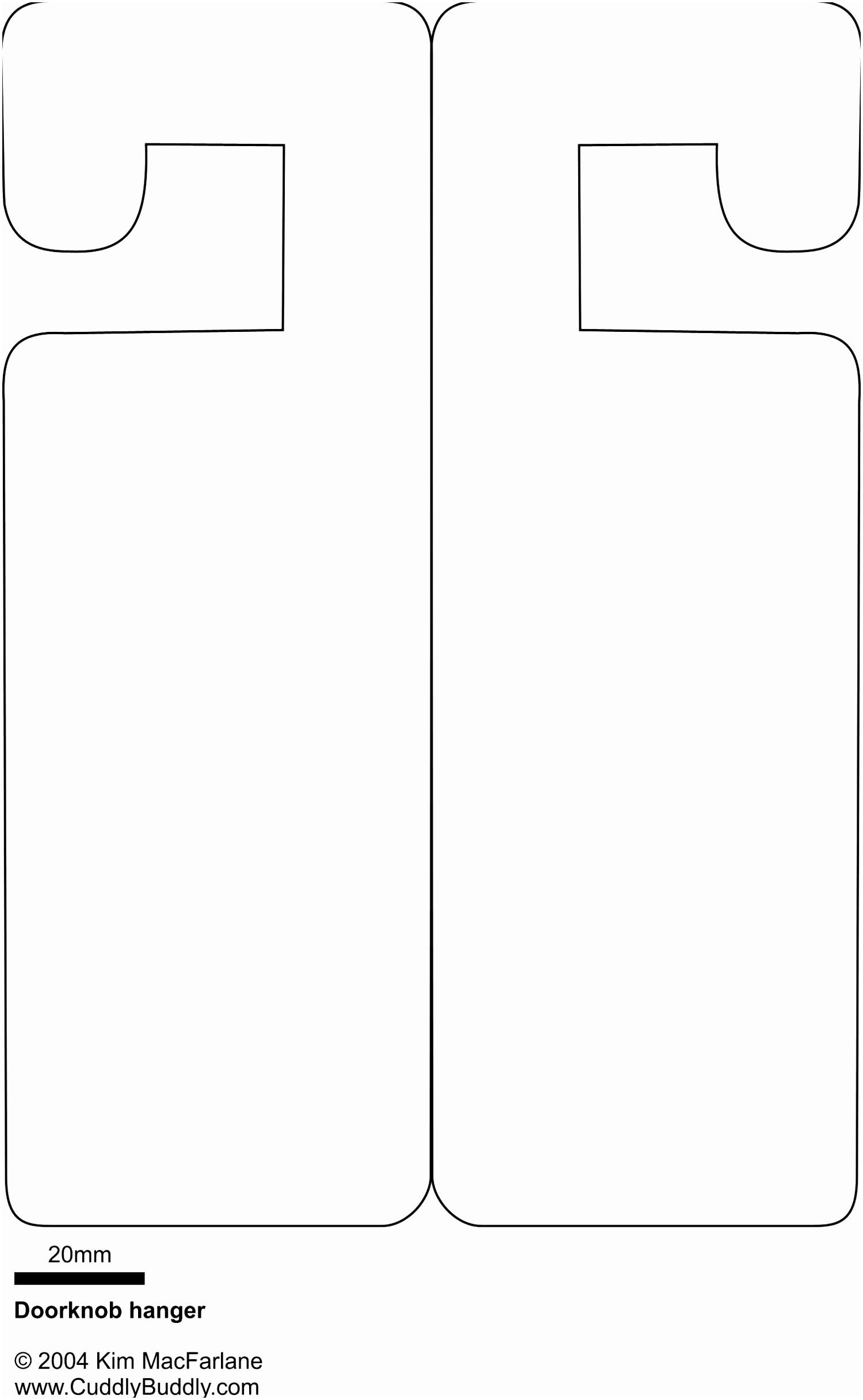 Wedding Door Hanger Template For Word Poure Templatesz – Nurul Amal - Free Printable Door Hanger Template