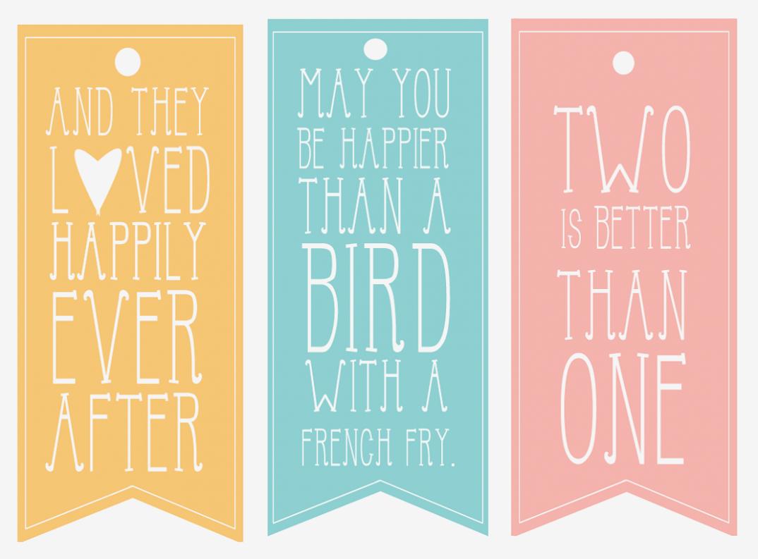 Wedding Gift Tags Template – Free Printable Labels For Wedding - Free Printable Wedding Favor Tags