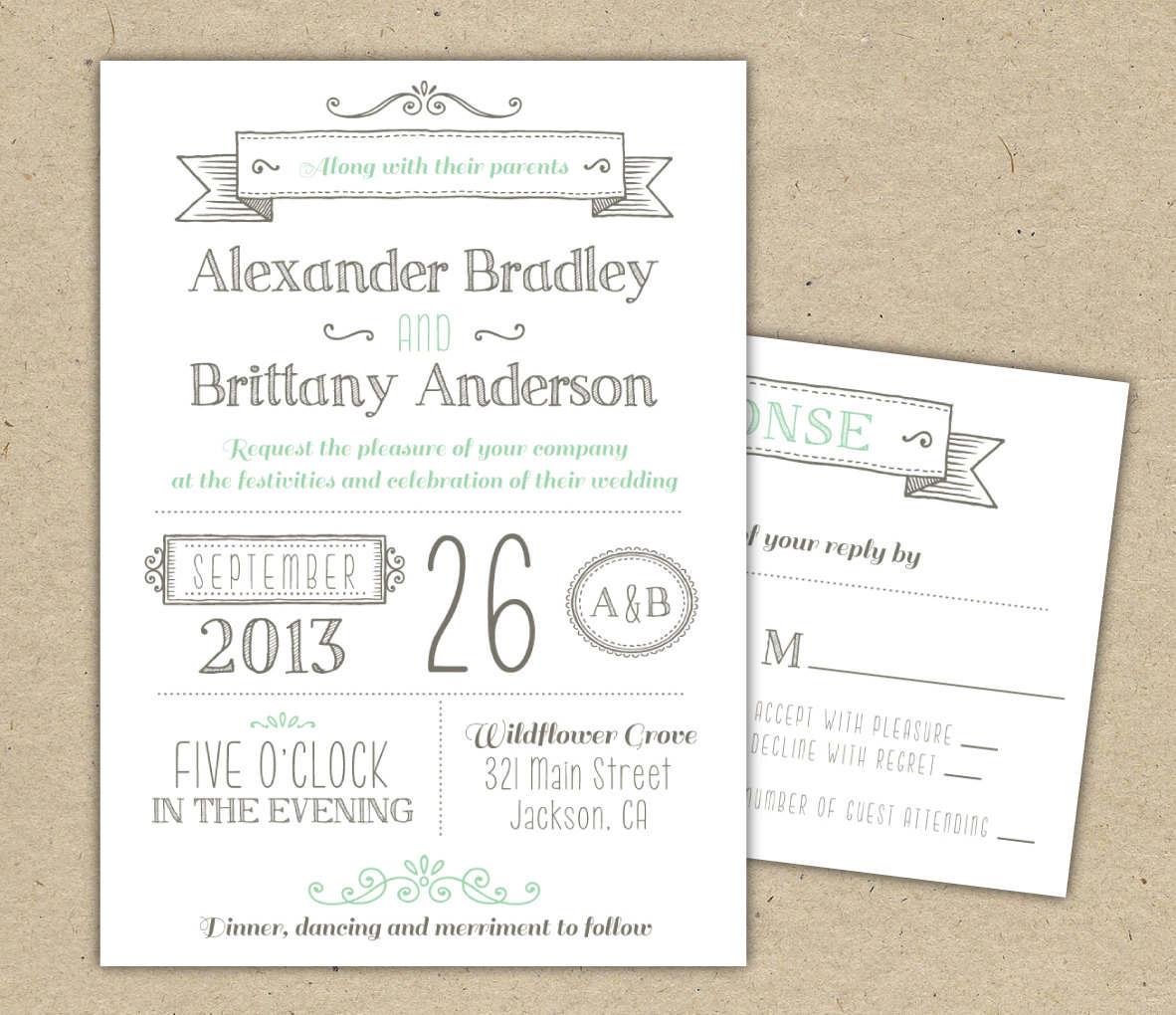 Wedding Ideas. Free Printable Wedding Invitation Templates - Free Printable Wedding Decorations