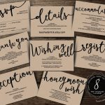 Wedding Insert Cards Pdf Template (Instant Download), Enclosure Card   Free Printable Enclosure Cards