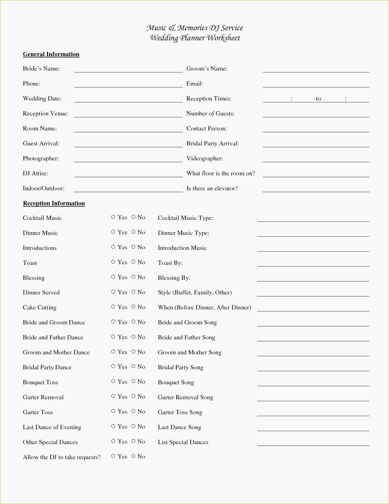 Wedding Planning Spreadsheet Or Free Printable Wedding Planner - Free Printable Wedding Planner Workbook