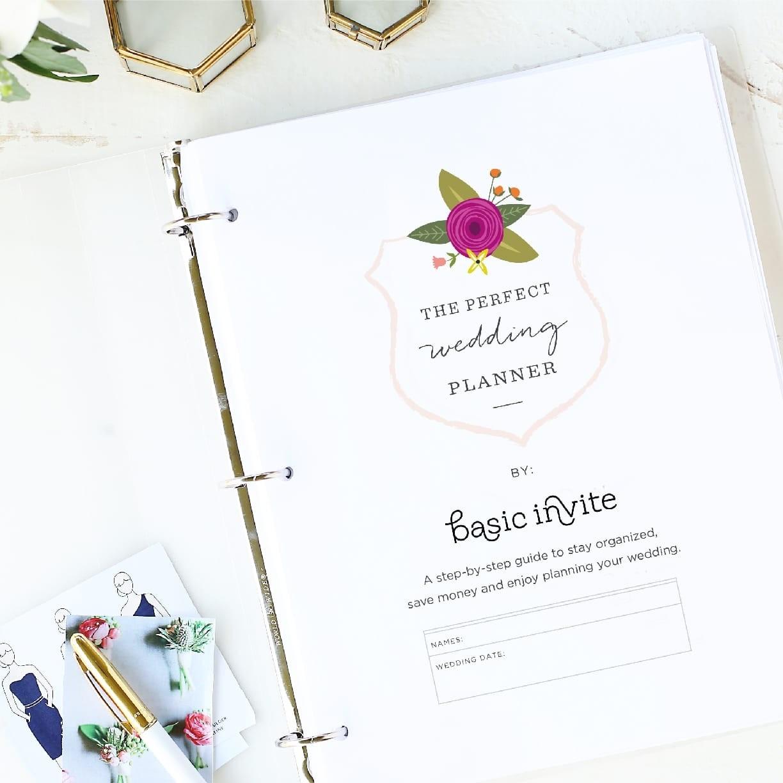 Wedding Printables And Free Wedding Templates | Basic Invite - Free Printable Wedding Organizer Templates