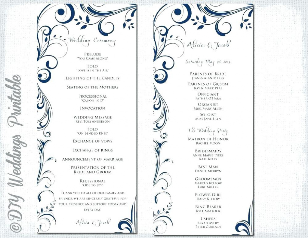 Wedding Scroll Template Wedding Scrolls Front Wedding Scrolls Diy - Free Printable Wedding Scrolls