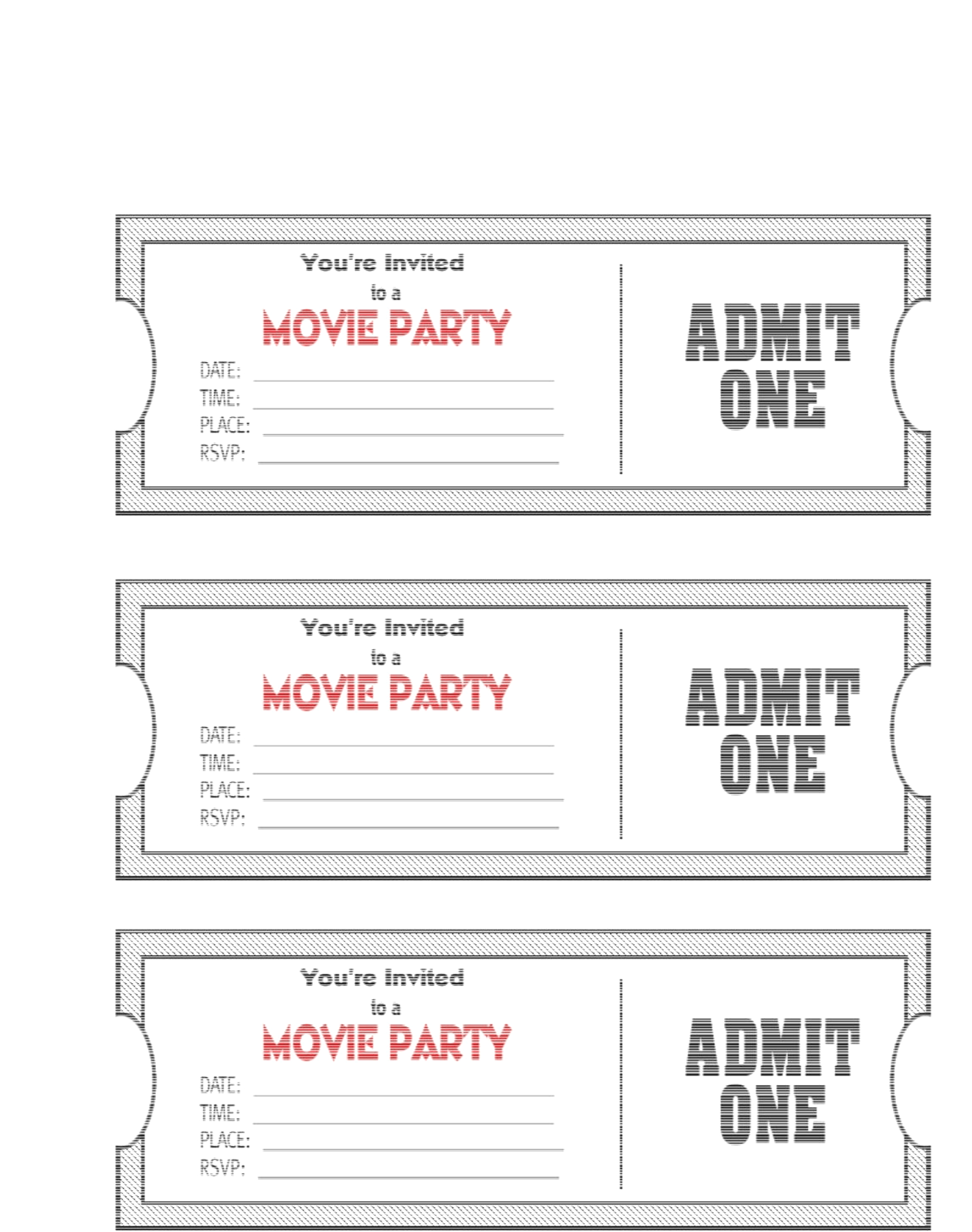 Weekly Status Report Template Excel New Sample Reports Free - Free Printable Movie Ticket Birthday Party Invitations