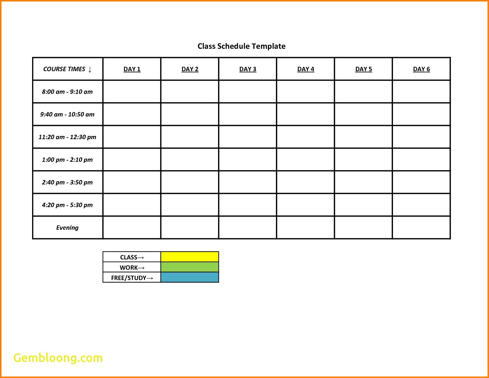 Weekly Work Schedule Mplate Plan Word Google Docs Employee Excel - Free Printable Blank Work Schedules