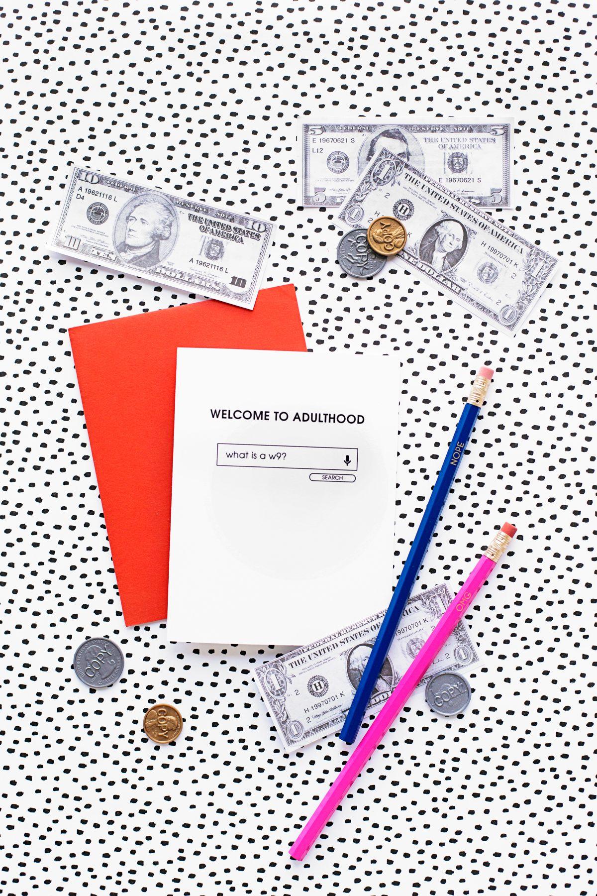 Welcome To Adulthood: Free Printable Graduation Cards | Graduation - Free Printable Welcome Cards