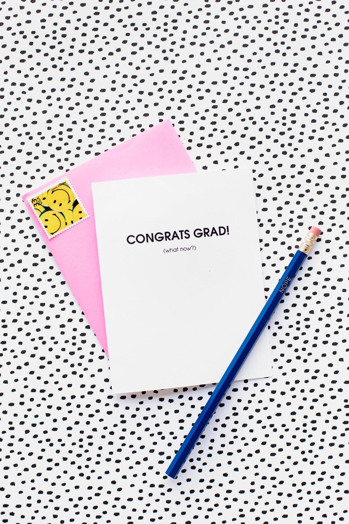 Welcome To Adulthood: Free Printable Graduation Cards - Studio Diy - Free Printable Welcome Cards