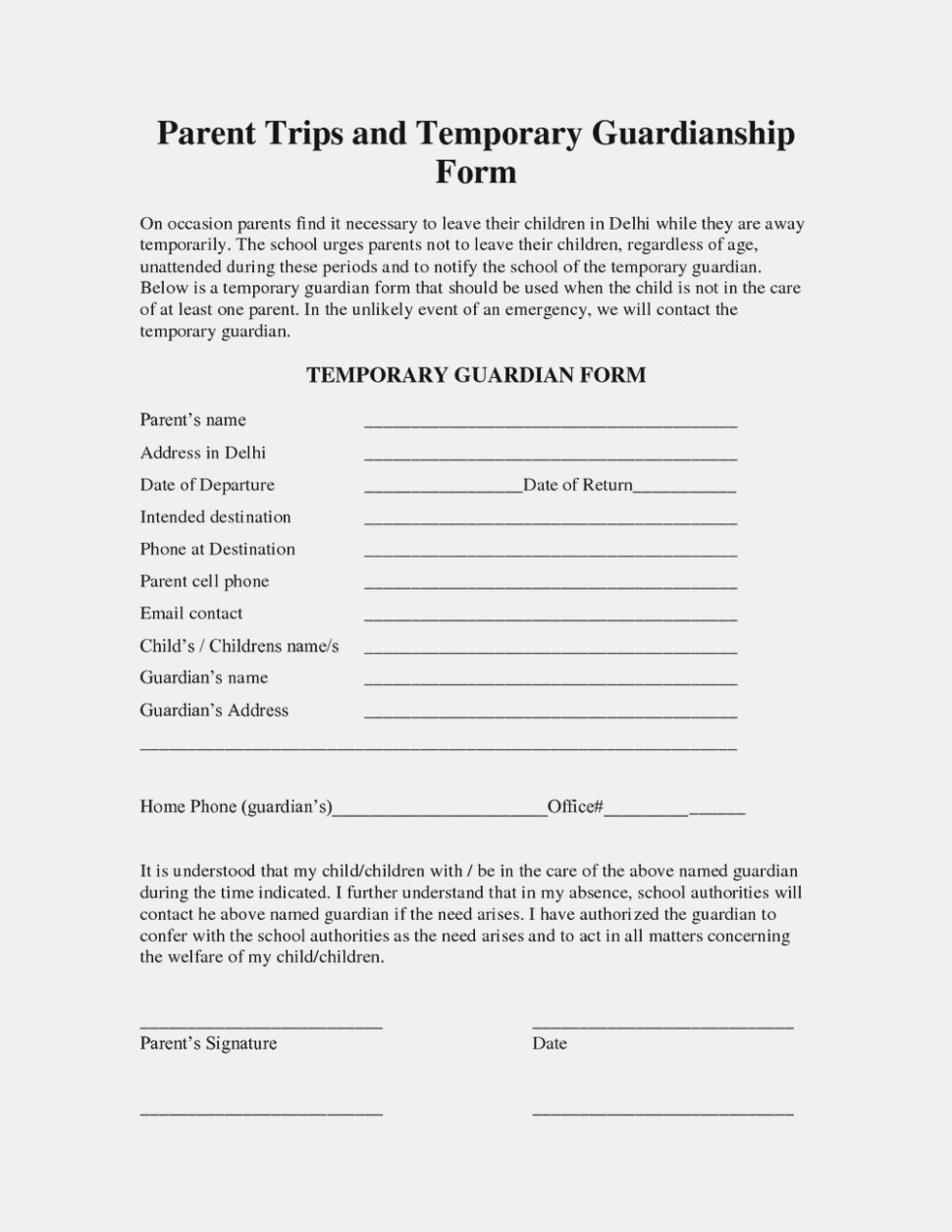 What's So Trendy About Free | The Invoice And Resume Template - Free Printable Child Custody Forms