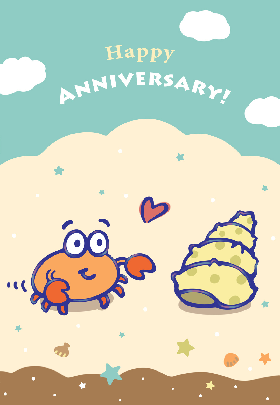 When I Found You - Free Happy Anniversary Card | Greetings Island - Free Printable Anniversary Cards