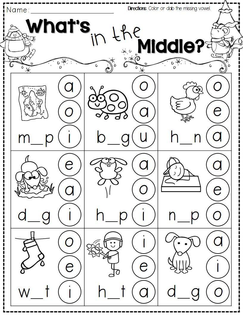 Winter Activities For Kindergarten Free | Teaching English - Free Printable Worksheets For Kids