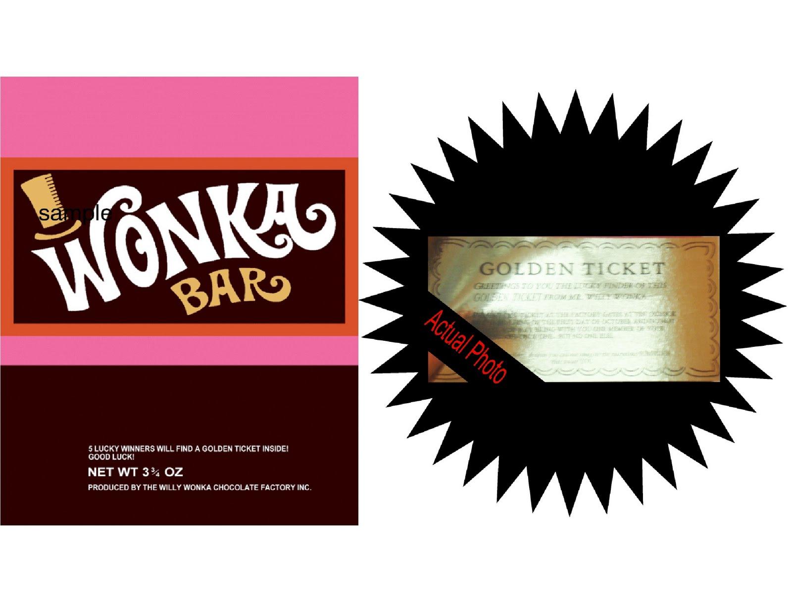 Wonka Bar Template - Home Design Ideas - Home Design Ideas - Free Printable Wonka Bar Wrapper Template