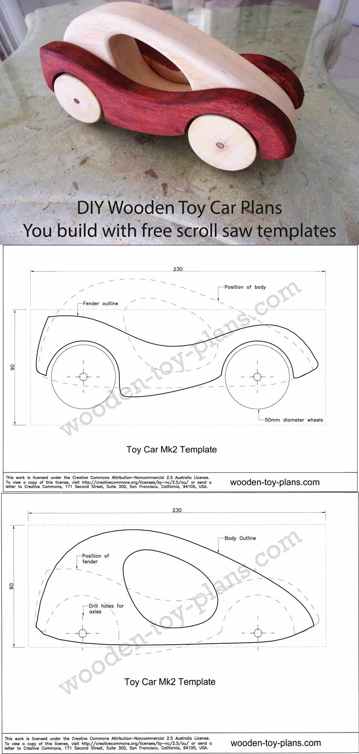 Wooden Toy Plans - Free Wooden Toy Plans Printable