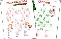 Free Printable Christmas Word Games