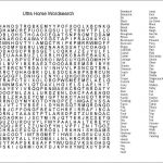 Word Search Template Blank Free Printable Pdf Unity Creator   Free Large Printable Word Searches