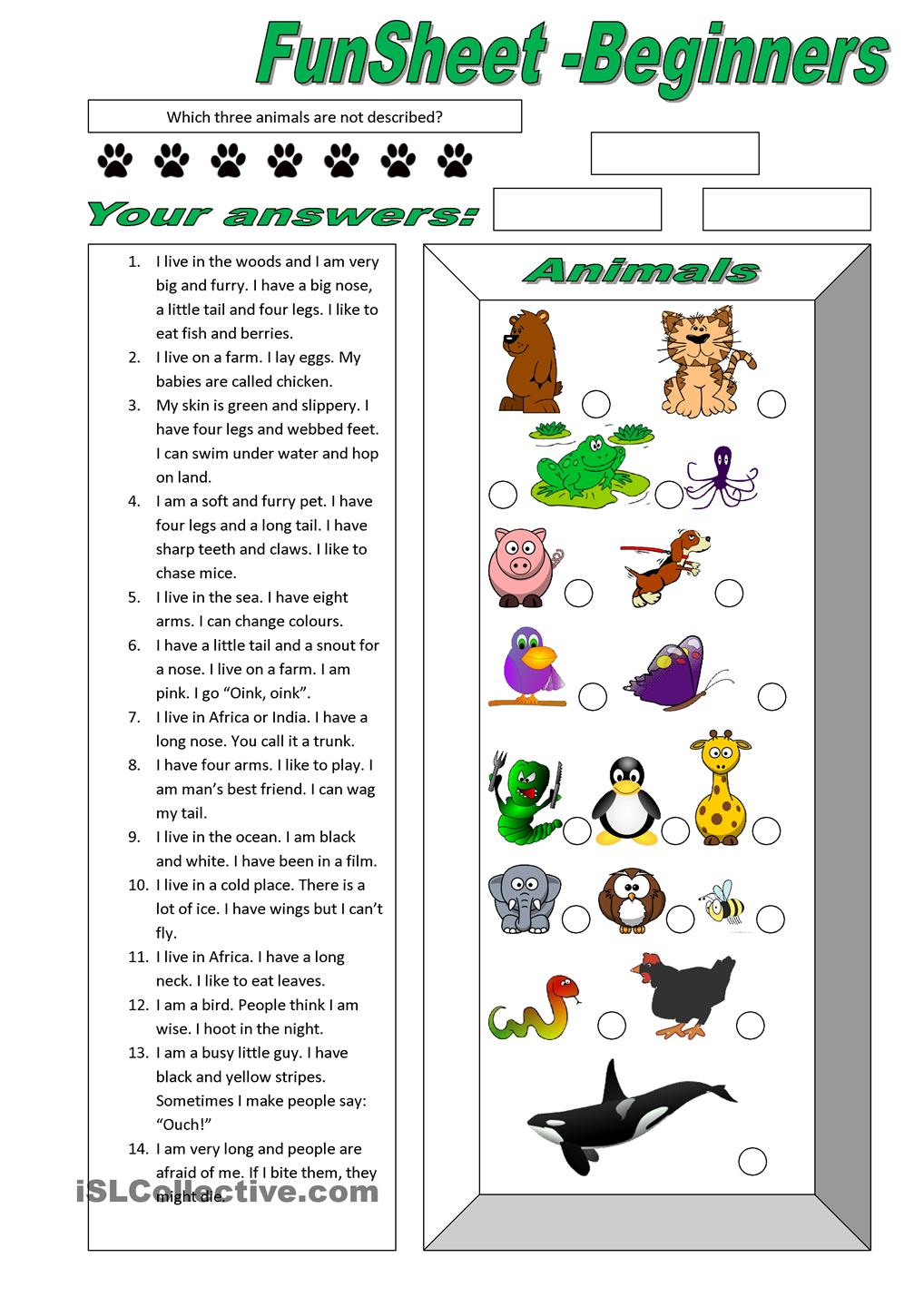 Worksheets Pages : Marvelous English For Beginners Worksheets - Free Printable English Lessons For Beginners