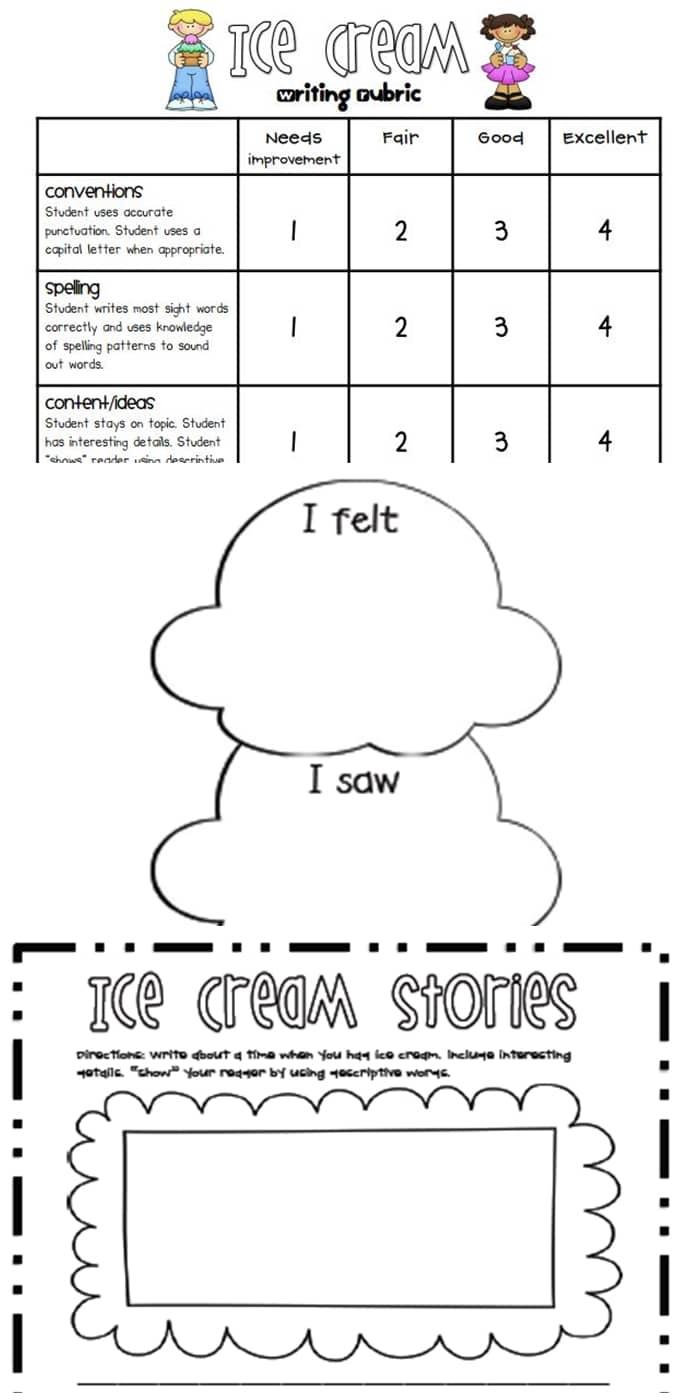 Writing Rubrics For Primary Grades - Teach Junkie - Free Printable Art Rubrics