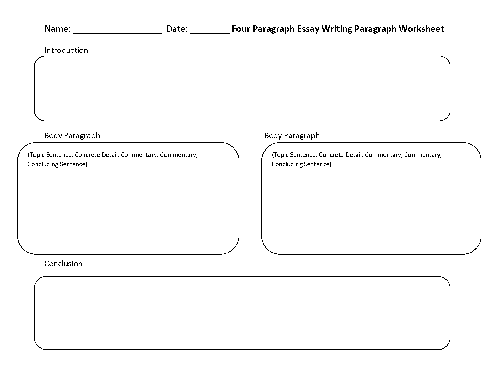 Writing Worksheets | Paragraph Writing Worksheets - 6Th Grade Writing Worksheets Printable Free