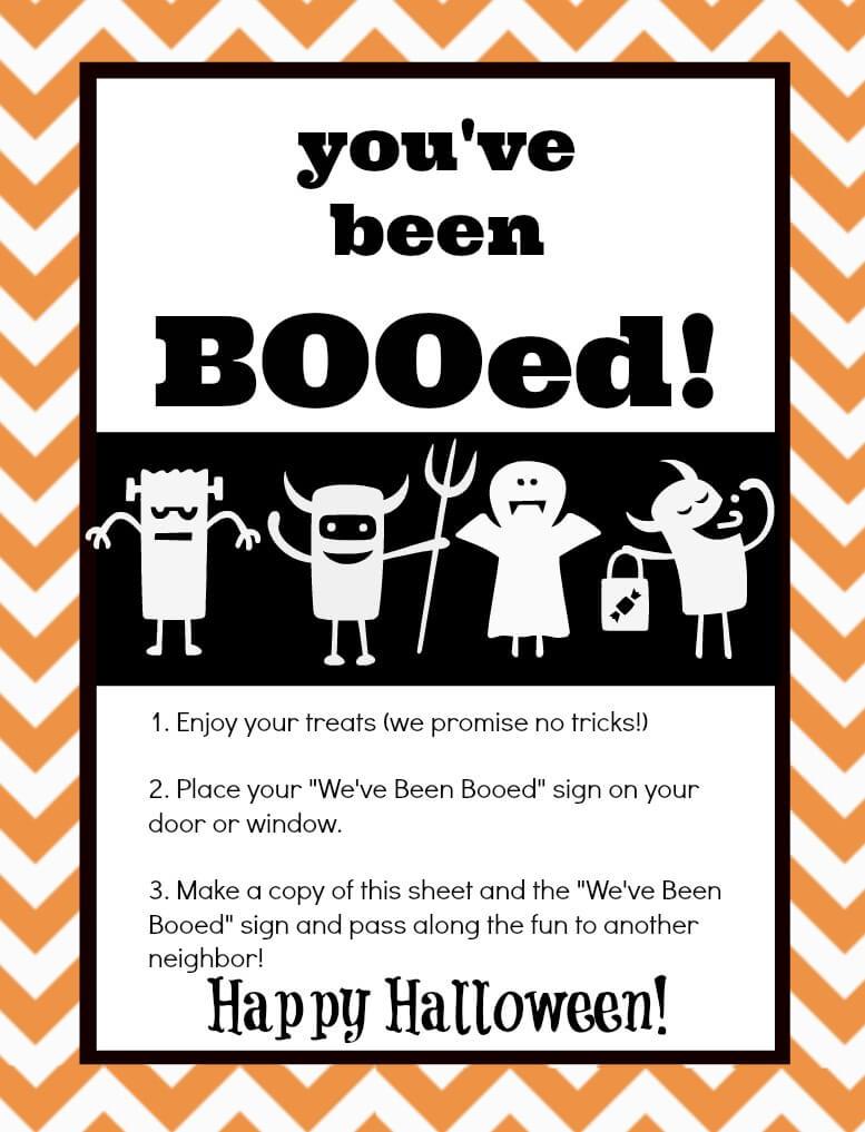 You've Been Booed! Mason Jar Gift & Free Printables | The Happier - We Ve Been Booed Free Printable