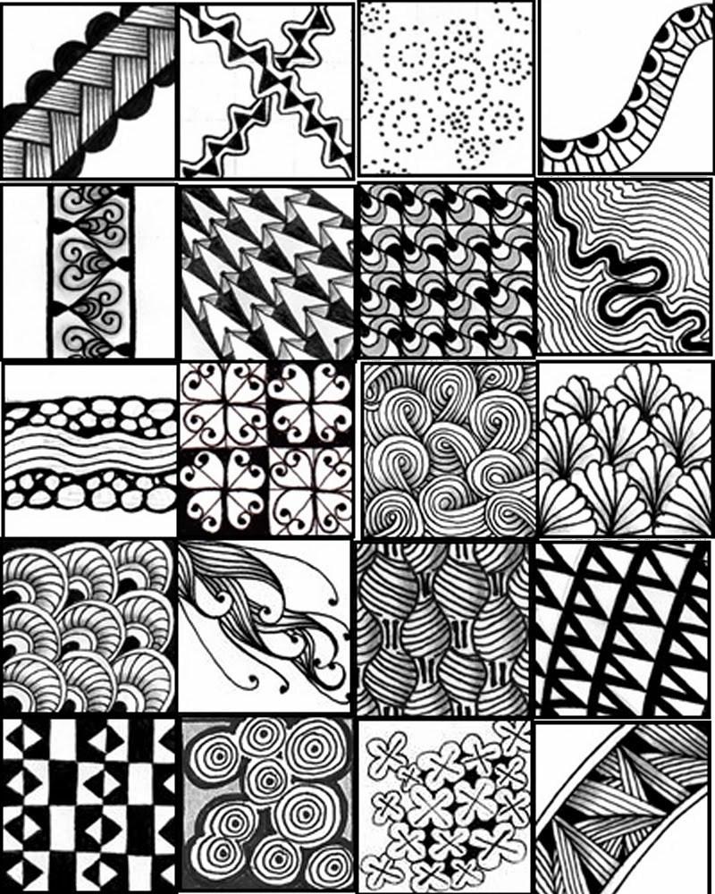 Zentangle Patterns Printable Animals – Ezzy - Free Printable Zentangle Templates